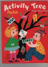 Activity Tree Play Book - Mazes, Puzzles, Games - Take Your Pick - 1965 ... - $2.97