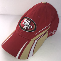 San Francisco 49ers Hat Baseball Cap Reebok NFL Authentic Sideline Embro... - €15,67 EUR