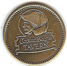 Huge Captain Bligh's Unc Medallion~Pirate Plunder~Wow~ - $3.78