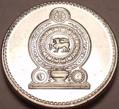 Gem Uncirculated 2004 Sri Lanka(Ceylon) 50 Cents~Awesome~Free Shipping - $3.42