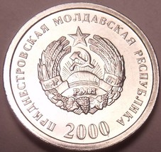 Gem Unc Transnistria 2000 1 Kopeek~Great Price~1st Year For Coinage~Free... - $2.18