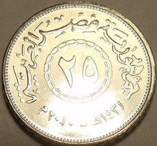 Gem Unc Egypt 2008 25 Piastres~Excellent~Free Shipping - $3.38