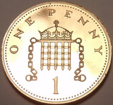 Cameo Proof Great Britain 1982 Penny~Proofs Are Best~107,000 Minted~Free... - $5.18