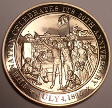 1826~NATION CELEBRATES ITS 50TH ANNIVERSARY~ADAMS~JEFFERSON~BRONZE~FREE ... - $9.40