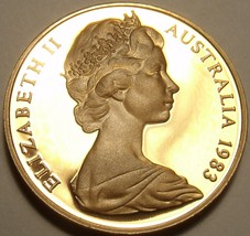 Cameo Proof Australia 1983 Cent~We Have Australia Proof Coins~80k Minted... - $6.62