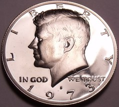 United States Proof 1973-S John F. Kennedy Half Dollar~Free Shipping - $5.58