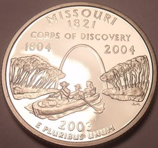 Gem Cameo Proof 2003-S Missouri State Quarter~Free Shipping~We Have Proofs~ - $4.35