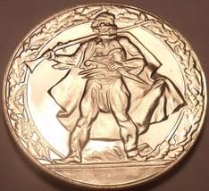 Large Proof Bulgaria 1981 2 Leva~1300th Anniv Nationhood~Soldier~Free Ship - $15.53
