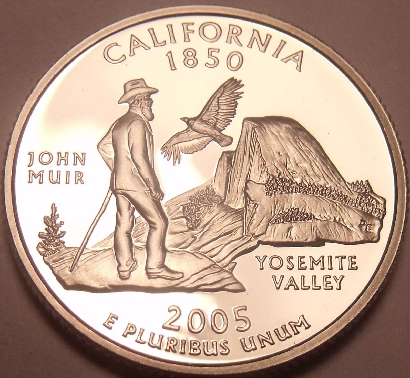 INCREDIBLE PROOF 2005-S CALIFORNIA STATE QUARTER~FR/SHI - $5.50