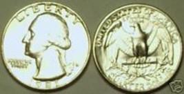 1981-P GEM BU WASHINGTON QUARTER~FREE SHIPPING INCLUDED - $3.44