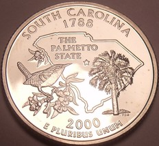 Gem Cameo Proof 2000-S South Carolina State Quarter~Free Shipping Included~ - $4.69