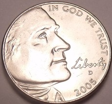 United States Unc 2005-D Jefferson-Buffalo Nickel~See All Our Unc Coins~... - $3.03
