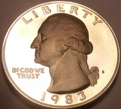 United States 1983-S Proof Washington Quarter~Proofs Are Best~Free Shipping - $5.96