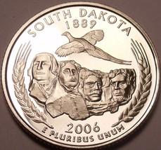 Gem Cameo Proof 2006-S South Dakota State Quarter~Free Shipping - $4.40
