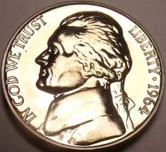United States Proof 1964 Jefferson Nickel~Free Shipping - $3.94
