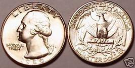 1980-D GEM BRILLIANT UNCIRCULATED WASHINGTON QUARTER~FREE SHIPPING~SEE O... - $3.75