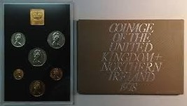 Great Britain Original 1978 Complete Six Coin Poof Set~Free Shipping - $24.38