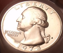 United States Proof Roll (40 Coins) 1973-S Washington Quarters~Free Ship... - $55.42