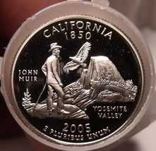 Gem Proof Roll (40 Coins) 2005-S California State Quarters~Free Shipping - $57.81