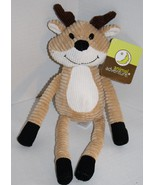 "Animal Adventure Reindeer tan stuffed animal 2013 corduroy plush New 13"" Michael - $23.71"
