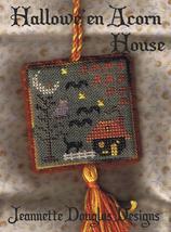Halloween Acorn House cross stitch kit Jeanette Douglas Designs - $7.20