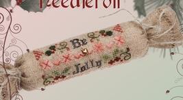 Be Jolly Needleroll cross stitch kit Jeanette Douglas Designs - $16.20