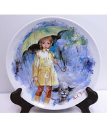 1980 Paul Durand Limoges Porcelain Collector Plate, Christiane et Fifi - $7.95
