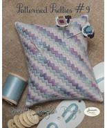 Patterned Pretties 9 Pyn Pillow Kit cross stitc... - $10.80