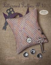 Patterned Pretties 10 Pyn Pillow Kit cross stitch kit Jeanette Douglas Designs - $10.80