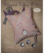 Patterned Pretties 10 Pyn Pillow Kit cross stit... - $10.80