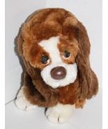 Russ Berrie stuffed animal Sad eyes Baxter Puppy Dog plush toy 871 Korea... - $24.13