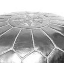 Pouf / SKI Leather ottoman  image 2