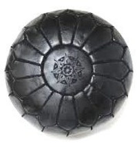 Pouf / genuine  Leather Ottoman image 2