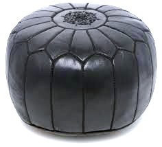 Pouf / genuine  Leather Ottoman image 1