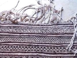 Vintage  Hand woven Rug Throw Rug Moroccan Beni Ourain Handira Wedding Blanket