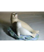 """Lefton 1998 Mama And Baby Seal Pup Signed Figurine 6"""" - $7.55"""
