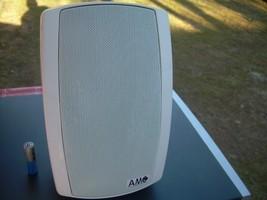 AMC Indoor/Outdoor Waterproof On Wall Speakers, Pair, White  JD 20/T - $84.39