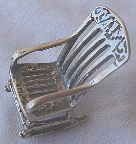 Rocking chair miniature 1
