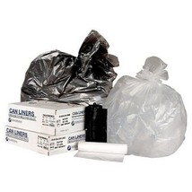 Commercial Coreless Roll Garbage Bags 500 30 Gallon Trash Can Liners - $39.99