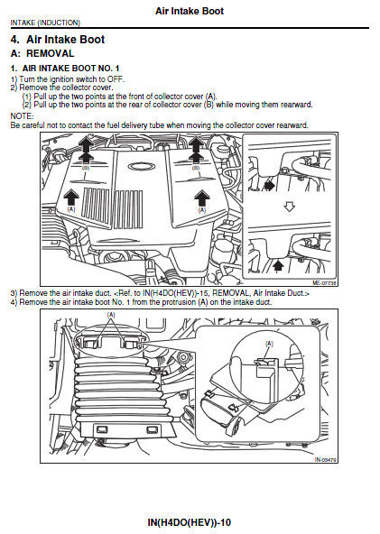 Diagram Subaru Crosstrek Service Manual