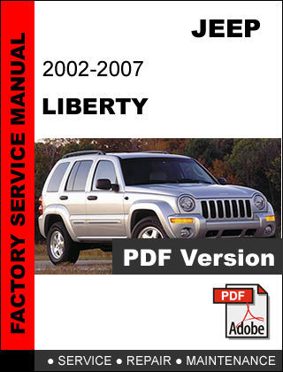 JEEP LIBERTY 2002 - 2007 ULTIMATE FACTORY OEM OFFICIAL SERVICE REPAIR FSM MANUAL
