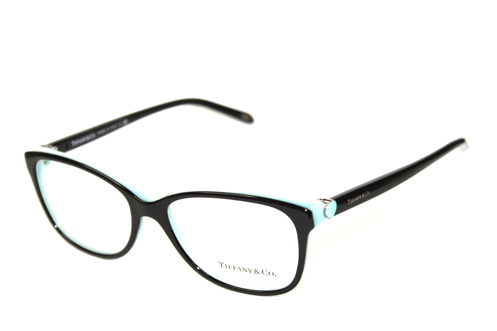 Tiffany Glasses Frames New York : New Authentic Tiffany & Co. TF2097 8055 Black Blue ...