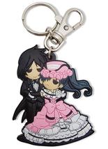 Black Butler Sebastian & Ciel Dance PVC Key Chain GE36646 *NEW* - $9.99