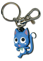Fairy Tail Happy Punch Kick Key Chain GE36789 *NEW* - $7.99