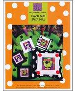 Frank and Sally Skull halloween cross stitch chart Amy Bruecken Designs - $7.20