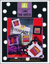 I Am The Witch halloween cross stitch chart Amy Bruecken Designs - $7.20
