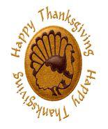 Happy Thanksgiving-Digital Download-ClipArt-ArtClip-Digital Art    - $4.00