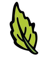 Harvest Festival Green Leaf-Digital Download-ClipArt-ArtClip-Digital Art    - $4.00