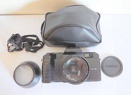 Meikai AW 4367 1960s Retro Motor Drive Film Camera, Case & More RARE - $34.00