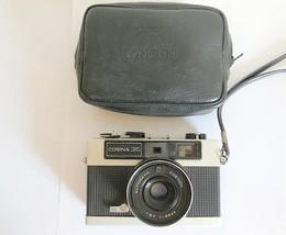 Cosina 35 Film 1967s Retro Camera with Cosinon 38mm Lens, Case, Made in ... - $29.00